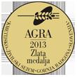 Zlata medalja AGRA 2013
