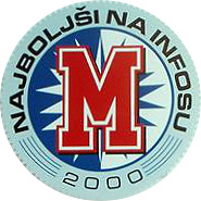 Finalist izbora Najboljši na Infosu 1999-2002